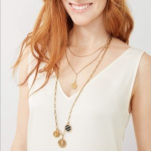 NWT Stella & Dot 4 in 1 Dez Layered Necklace